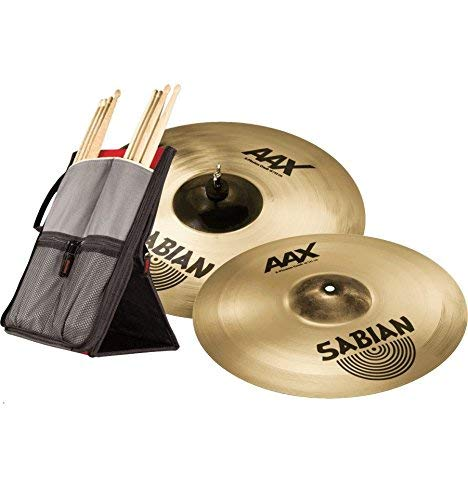 sabian aax plosion crash cymbal bundle musical instruments online store. Black Bedroom Furniture Sets. Home Design Ideas