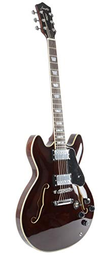 Firefly Ff338 Hollowbody Guitar Walnut Musical